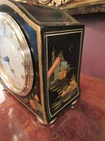 Small Antique Chinoiserie Mantel Clock (5 of 8)