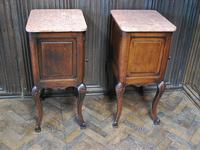 Pair of Substantial Oak Bedside Cabinets (7 of 9)