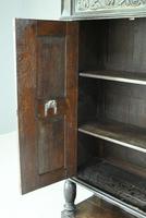Antique Large Dark Oak Cupboard (13 of 13)