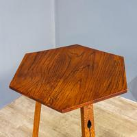 Arts & Crafts Tripod Table (7 of 7)