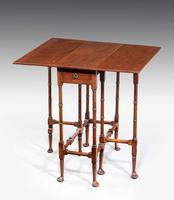 "George III Style Mahogany ""Spider-leg"" Table c.1890 (2 of 5)"