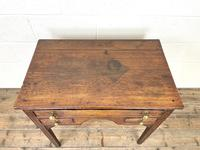 Early 19th Century Oak Side Table or Lowboy (6 of 10)