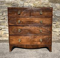 Antique Regency Mahogany Chest of Drawers