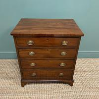 Georgian Mahogany Antique Chest of Drawers (5 of 6)