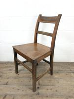 Pair of 19th Century Welsh Oak Farmhouse Chairs (8 of 11)