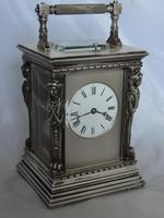 French Caryatids Repeating Carriage Clock (2 of 7)