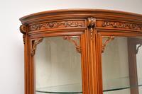 Antique Italian Walnut Display Cabinet (11 of 11)