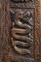 19th Century Carved Eastern Screen (5 of 9)