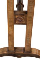 Walnut Empire Style Centre Table with Crossband Edge (6 of 6)