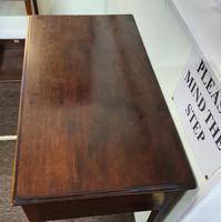 George III Cuban Mahogany Side Table (2 of 7)