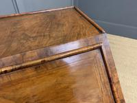 George I Style Burr Walnut Bureau (14 of 18)