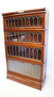 Good Quality Mahogany Globe Wernicke Sectional Glazed Bookcase (27 of 29)