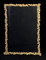 Gilt Brass Edwardian Easel Photo Frame