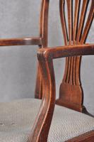 18th Century Mahogany Hepplewhite Armchair (8 of 10)