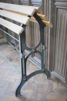 Antique Wrough Iron French Saddle Rack (2 of 4)