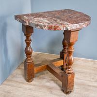 Pair of Marble Top Console Tables (3 of 10)