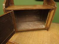 Small Rustic Wall Cabinet, Small Bathroom Cabinet (6 of 13)