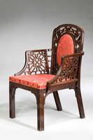 Chippendale Design Armchair - Chinese Period (4 of 6)