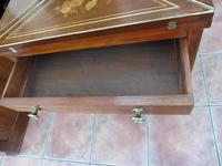 Maple & co Mahogany Inlaid Card Table / Games Table (3 of 14)