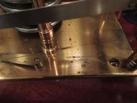 Antique Polished Mahogany Portable Barograph (6 of 9)