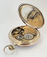 Antique silver Omega pocket watch. (3 of 5)