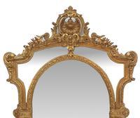19th Century Gilt Framed Margin Mirror (2 of 3)
