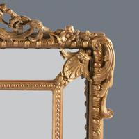 Large  French Gilt Overmantle Mirror (6 of 11)