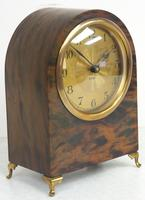 Antique Shell Mantel Clock Fine Arched Top Clock with Brass Dial 8-Day Timepiece Mantle Clock (6 of 9)