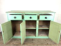 Victorian Antique Pine Painted Dresser Base Sideboard (4 of 14)