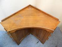 Oak Corner Desk (5 of 7)