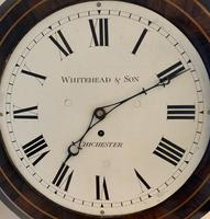 Rosewood Late Victorian Fusee Timepiece (9 of 11)