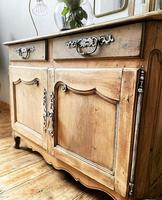 French Antique Normandy Sideboard / Buffet / Cupboard (4 of 5)
