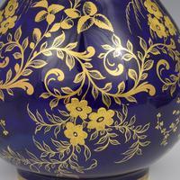 Derby Porcelain Sevres Style Bottle Vase & Cover (5 of 7)