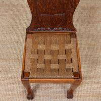 Carved Oak Eagle Chair (5 of 9)