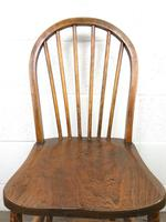 Pair of Antique Hoop Back Farmhouse Chairs (6 of 13)