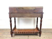 Antique Edwardian Mahogany Desk (12 of 12)