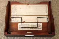 Unusual Mahogany Filing Cabinet (8 of 11)