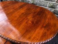 Antique Mahogany 9ft Wind Out Extending Dining Table (7 of 14)