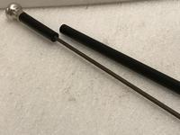 Gentleman's walking stick sword stick with silver handle (17 of 25)