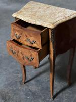 Quality Pair of French Marquetry Bedside Drawers (16 of 22)