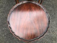 Antique Mahogany Nest 3 Tables (7 of 10)
