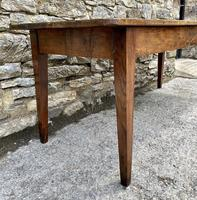 Large French Sycamore & Elm Farmhouse Table (20 of 21)