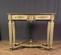 Italian Painted & Giltwood Console Table (2 of 11)