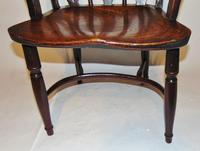 Georgian Yew-wood Windsor Elbow Chair (2 of 7)
