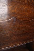Edwardian Oak Display Stand / Open Bookcase (11 of 13)