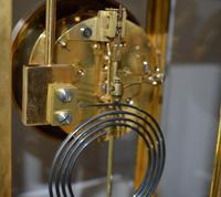 Bronze Ormolu Four Glass Clock Set (8 of 9)