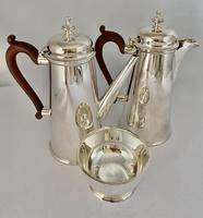Silver Plated Chocolate Set c.1930 (2 of 8)