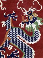 Vintage Tibetan Dragon Rug (7 of 8)