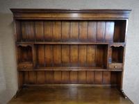 Titchmarsh & Goodwin Oak Dresser & Rack (4 of 15)