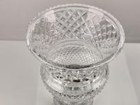 Impressive Large Cut Glass Vase (3 of 7)